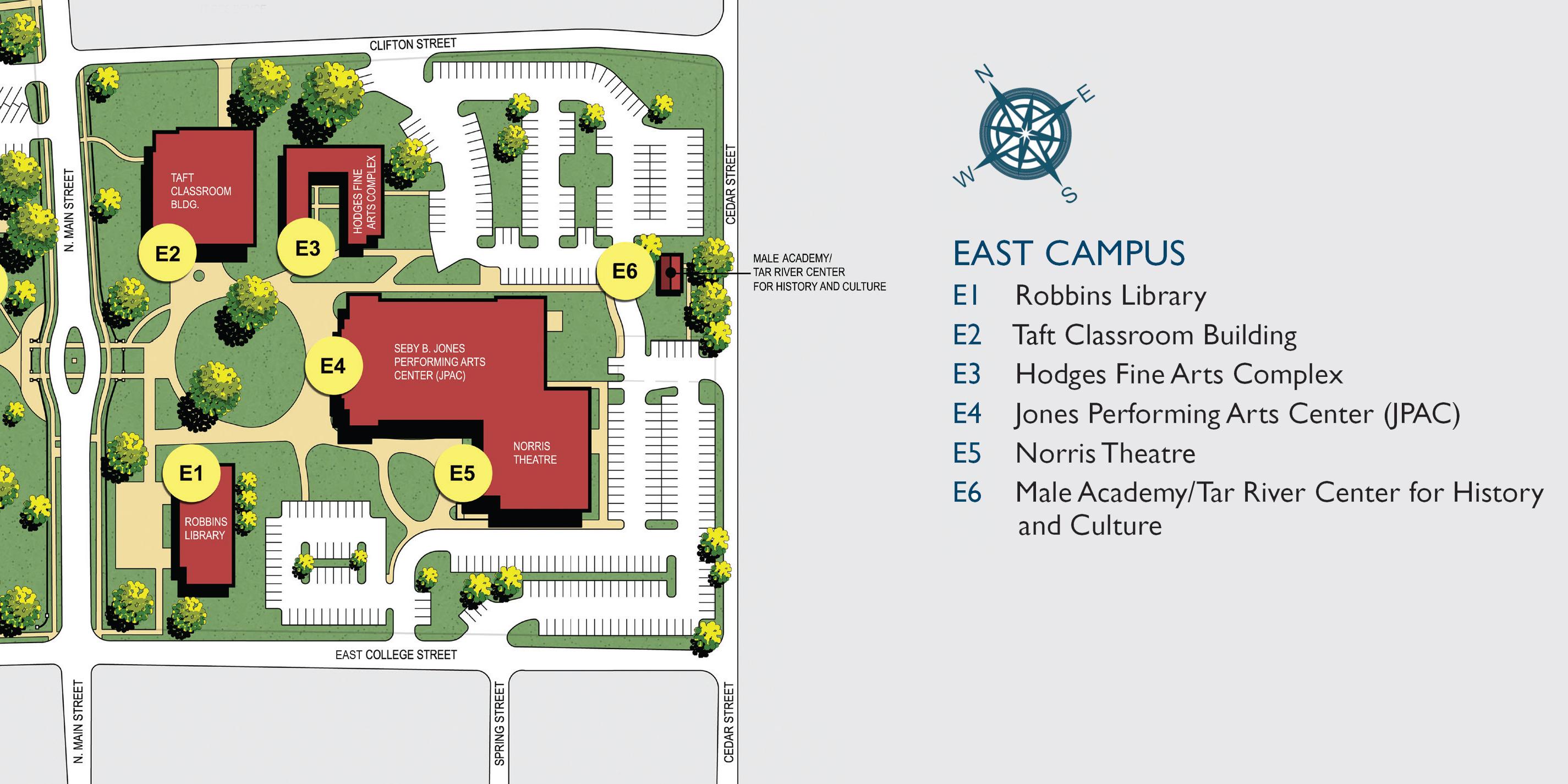 Taft College Campus Map.Louisburg College Venue Details